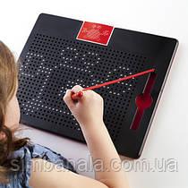 Магнітний планшет Guidecraft Manipulatives для малювання, з шаблонами і ручкою (G99970)