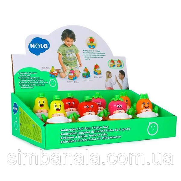 Игрушка Hola Toys Машинка Тутти-Фрутти 8 шт. (356A)