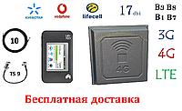 Полный комплект для 4G-LTE/3G WiFi Роутер Netgear 782s + Антенна планшетная 4G/LTE/3G 17 дбі (824-2700 мГц)