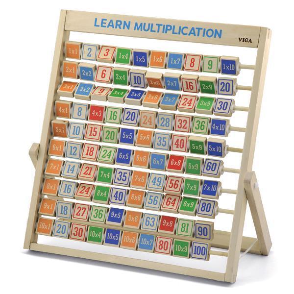 Деревянная игра Viga Toys Изучаем умножение (50036)