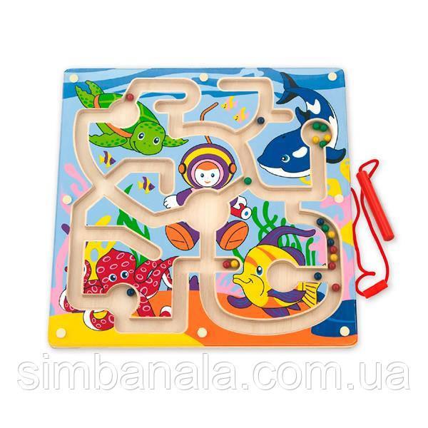 Магнитный лабиринт Viga Toys Подводный мир (50123)