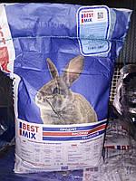 Комбікорм Best Mix відгодівельний для кролів з 2 місяців /5 кг