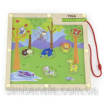 Магнітна настільна гра Viga Toys Джунглі (50194)