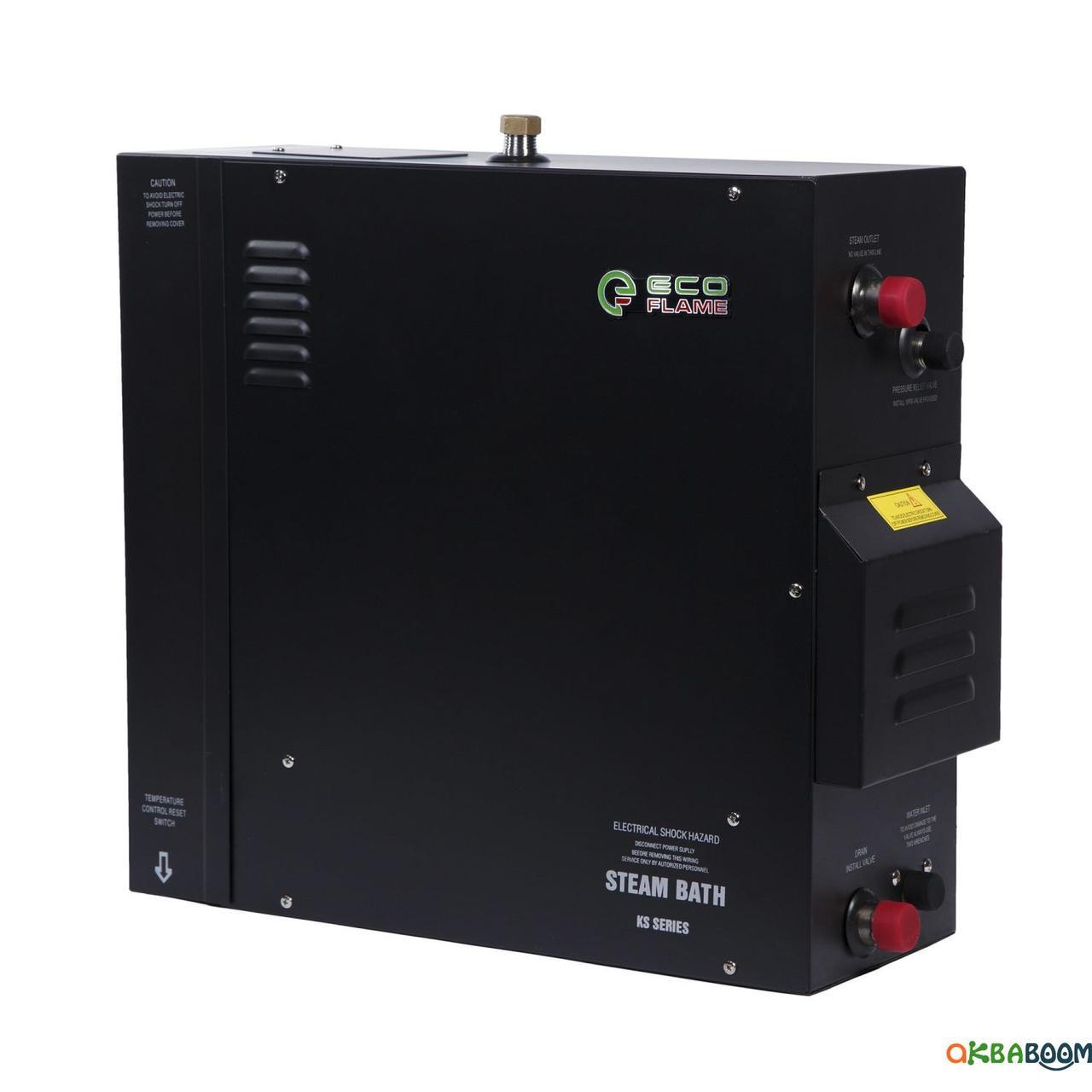 Парогенератор EcoFlame KSA120 12 кВт с выносным пультом, Парогенераторы, Украина, 380, 12 кВт