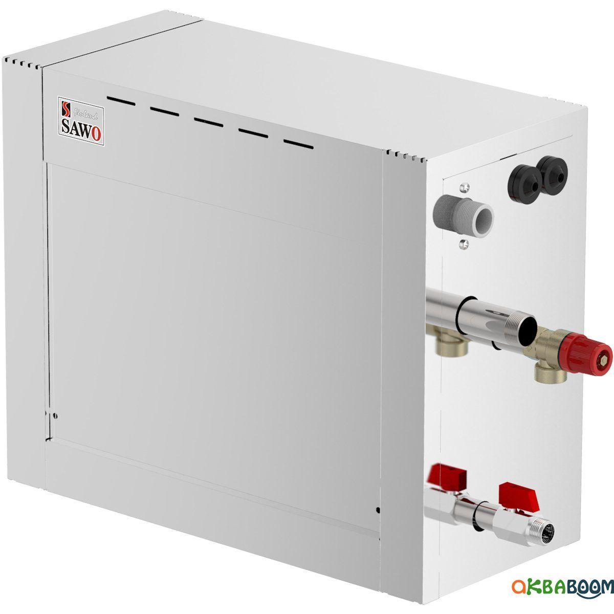 Парогенератор Sawo STE-120 12 кВт с пультом, Парогенераторы, Финляндия, 380, До 28, 12 кВт