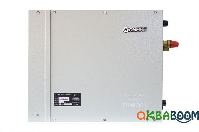 Парогенератор Bonfire FAN-105 10, кВт с выносным пультом, Парогенераторы, Китай, 220/380, До 18, 10 кВт