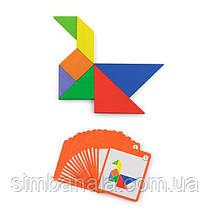 Гра-головоломка Viga Toys Магнітний танграм, 35 ел. (50643)
