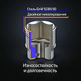 """Набор инструментов 1/4"""", 46ед., Cr-V INTERTOOL ET-8046, фото 8"""