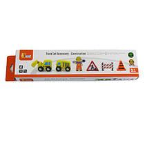 Набор для железной дороги Viga Toys Дорожные работы (50813)