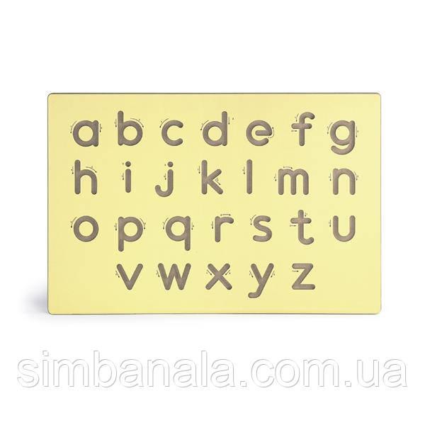 Деревянная доска Viga Toys Написание строчных букв (50858)