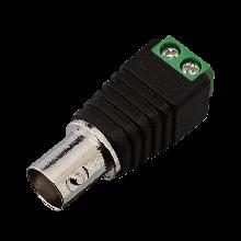 Коннектор для передачи видеосигнала Green Vision GV BNC/F (female)