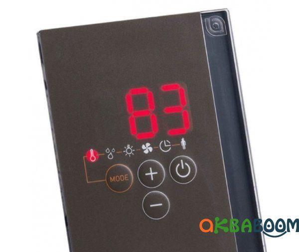 Пульт управления Sentiotec Pro D3 Черный (1-041-293), Пульт управления для электрокаменки, Австрия, С