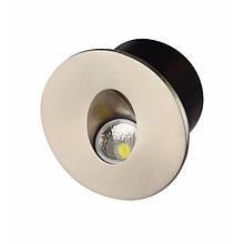 Светодиодный светильник лестничный YAKUT  3W хром