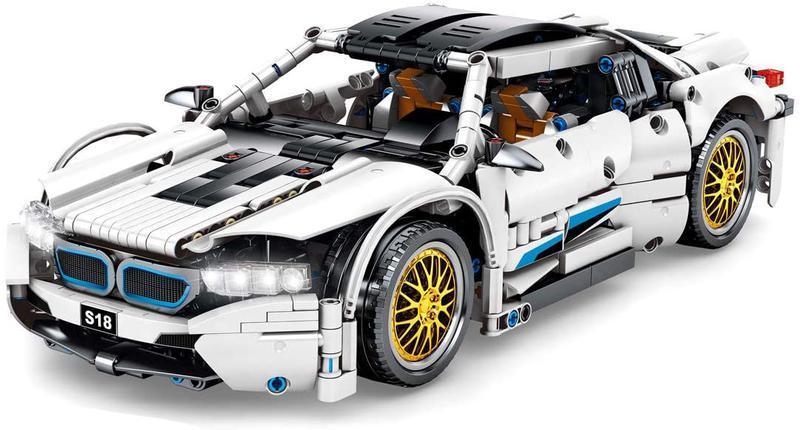 """Конструктор Sembo Block Technique """"BMW Hurricane"""" 1270 дет (701940)"""