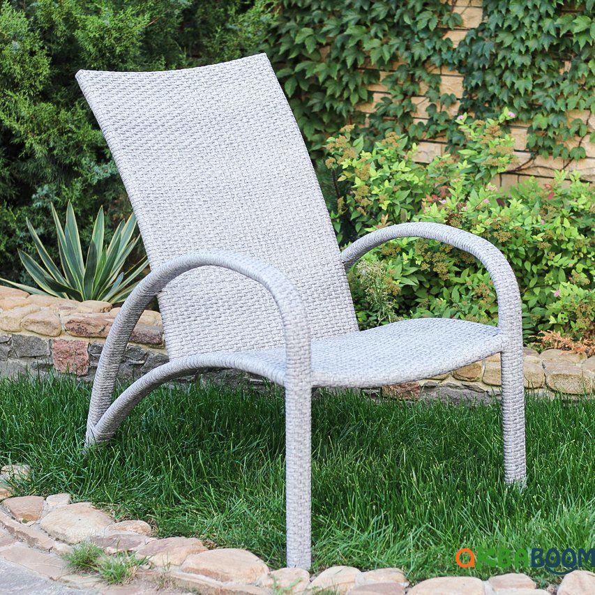 Кресло Пляж, Кс-001, Садовая мебель из искусственного ротанга