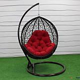"""Подвесное кресло кокон """"Наоми"""" (Арт.-101), Садовая мебель из искусственного ротанга, фото 4"""