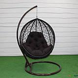 """Подвесное кресло кокон """"Наоми"""" (Арт.-101), Садовая мебель из искусственного ротанга, фото 5"""