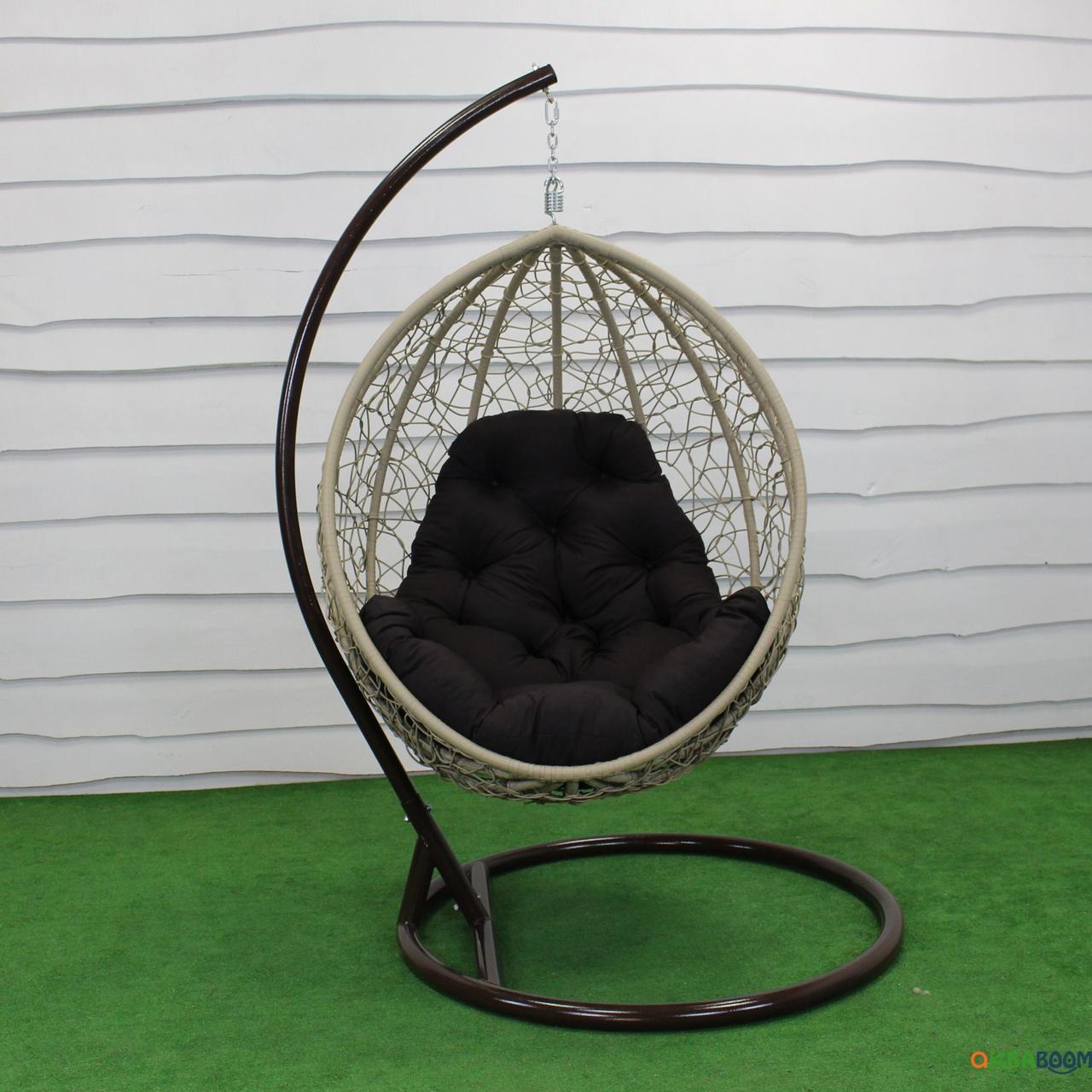 """Подвесное кресло кокон """"Наоми"""" (Арт.-102), Садовая мебель из искусственного ротанга"""