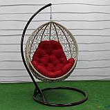 """Подвесное кресло кокон """"Наоми"""" (Арт.-102), Садовая мебель из искусственного ротанга, фото 2"""