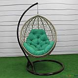 """Подвесное кресло кокон """"Наоми"""" (Арт.-102), Садовая мебель из искусственного ротанга, фото 3"""