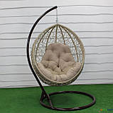 """Подвесное кресло кокон """"Наоми"""" (Арт.-102), Садовая мебель из искусственного ротанга, фото 4"""