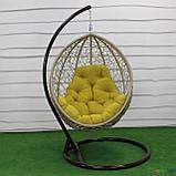 """Подвесное кресло кокон """"Наоми"""" (Арт.-102), Садовая мебель из искусственного ротанга, фото 5"""