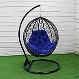 """Подвесное кресло кокон """"Наоми"""" (Арт.-106), Садовая мебель из искусственного ротанга, фото 2"""