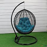 """Подвесное кресло кокон """"Наоми"""" (Арт.-106), Садовая мебель из искусственного ротанга, фото 4"""