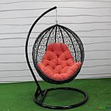 """Подвесное кресло кокон """"Наоми"""" (Арт.-106), Садовая мебель из искусственного ротанга, фото 5"""