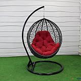 """Подвесное кресло кокон """"Наоми"""" (Арт.-106), Садовая мебель из искусственного ротанга, фото 8"""