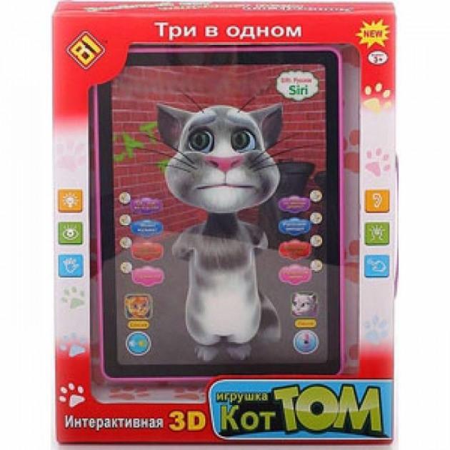 """Игрушечный интерактивный планшет """"Кот Том"""" (DB 6883 A2) на русском языке"""