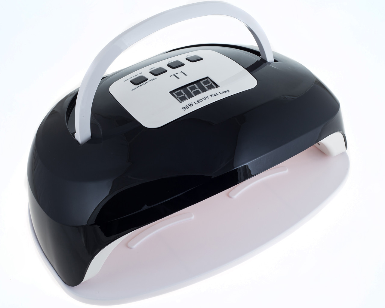 Лампа для маникюра T1 96 Вт LED/UV, черная