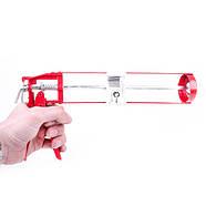 Пистолет для выдавливания силикона INTERTOOL HT-0022, фото 2