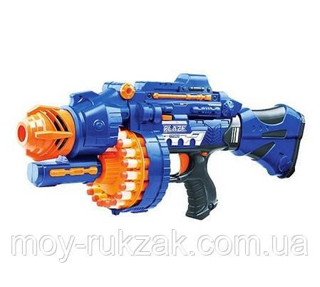 Пулемет - бластер с мягкими пулями Бласт, 57 см, 80531, фото 2