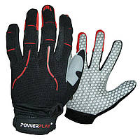 Робочі рукавички PowerPlay 6662 В Чорно-Червоні S
