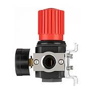 """Регулятор давления 3/4"""", 1-16 бар, 4500 л/мин, профессиональный INTERTOOL PT-1427, фото 2"""