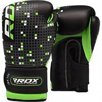 Детские боксерские перчатки RDX Green, фото 1