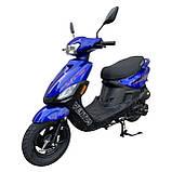 Скутер VENTUS VS125T-4 125 см3 синий, фото 2