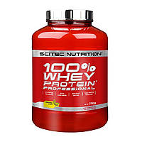 Сывороточный протеин 100% Whey Protein Professional Scitec Nutrition (2350 грамм) Банан