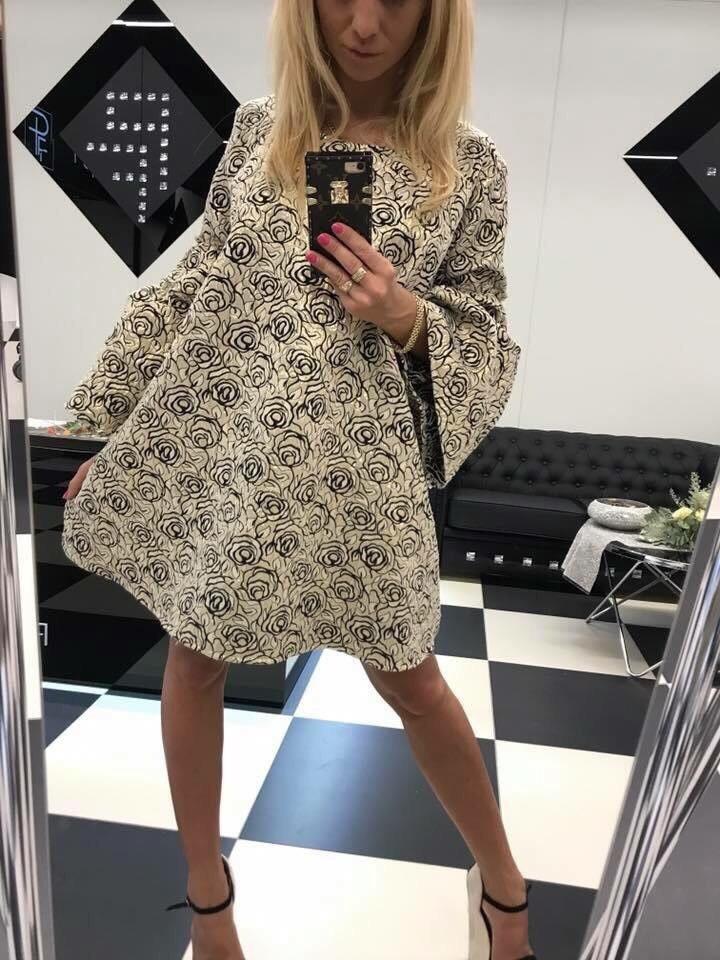 Женские платье Paparazzi Fashion 902-05 Италия oversize