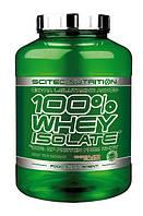 Протеин 100% Whey Isolate Scitec Nutrition (2000 гр.) Вишня