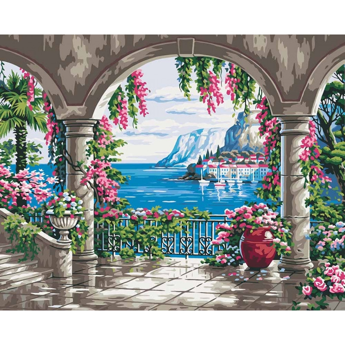 Картина по номерам  Волшебное место ТМ Идейка 40 х 50 см КНО2235