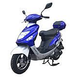 Скутер VENTUS VS50QT-9 80 см3 синий, фото 2