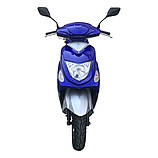 Скутер VENTUS VS50QT-9 80 см3 синий, фото 3