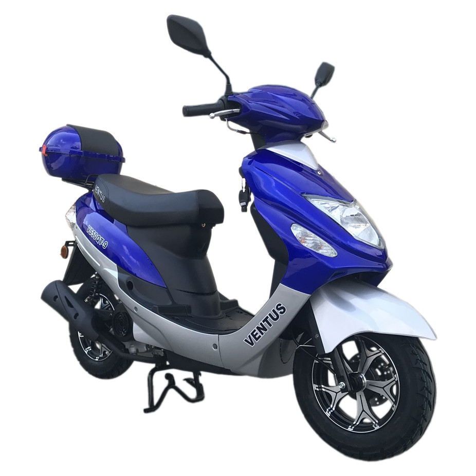 Скутер VENTUS VS50QT-9 80 см3 синий