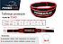 Пояс для важкої атлетики PowerPlay 5545 Чорно-Червоний (Неопрен) S, фото 6