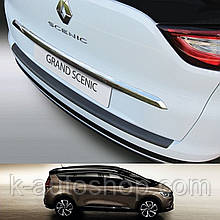 Пластикова захисна накладка на задній бампер для Renault Grand Scenic IV 2016+