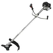 Мотокоса 1.5 кВт/2 л.с., 43 см³, катушка, 3-х лопастной нож, плечевой ремень. INTERTOOL DT-2231