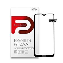 Захисне скло Armorstandart Icon Full Glue для Nokia 2.3 Black (ARM56154-GIC-BK)