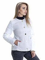 Женская демисезонная куртка Irvik KK134 белая